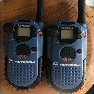 Motorola TalkAbout two way radio walkie talkies